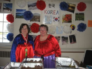 Marilyn and Sue 30th Annual Int'l Food Fair